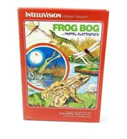 Vintage Intellivision Frog Bog Game Cartridge