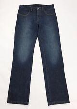 Manuel ritz pipo jeans uomo w36 tg 50 usato denim straight dritti slim blu T2562