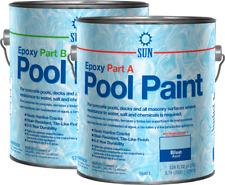 2 Part Epoxy Pool Paint By Sun Paints, Blue