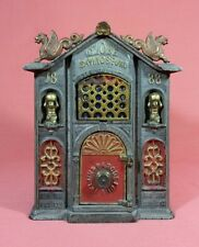 Kyser & Rex Globe Savings Fund 1888 Cast Iron Mechanical Bank