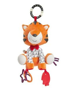 Mamas & Papas Activity Toy Tiger Tink Interactive PlayTime Toy Teether