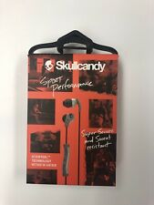 Skullcandy Sport Performance, Super Secure And Sweat Resistance. Gray And Black