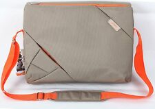 Bipra 15.6 inch Laptop Bag Backpack Suitable for 15.6 Inch Laptops (Grey/Orange)