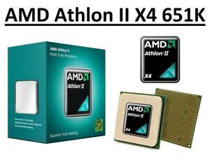 AMD Athlon II X4 651K Quad Core Processor 3.0 GHz,Socket FM1, 100W CPU