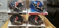 Autographed Lot (4), Texans signed Mini-Helmets, NFL Football