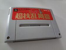 LOOSE Ranma1/2 Chogi Ranbu Hen Nintendo Super Famicom Japan