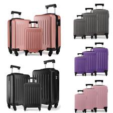 Ryanair EasyJet Case Bag Hard Cabin 4 Wheels Spinner Trolley Luggage Suitcase