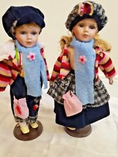 Twin Porcelain Dolls Collection Great Quality Classic Model Dolls UK Seller