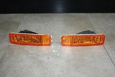 90-91 Acura Integra DA DB JDM Frosted Amber Bumper Light Blinker Parking