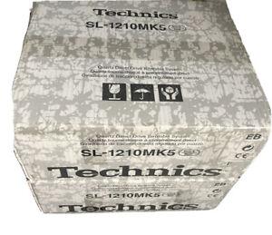 2 x NEW Technics SL-1210MK5 Direct Drive Turntable - BRAND NEW RARE