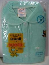 Vintage NOS Golden Tex Baby Sleeper Stretch Terry Coverall Newborn M RARE