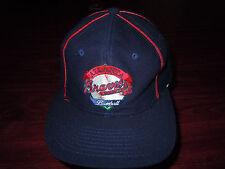 Authentic MLB Atlanta Braves Embroidered Stripe Blue/Red Stripe Snapback Hat Cap