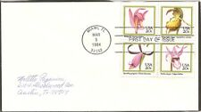 US Scott # 2079a Orchids FDC . No Cachet.