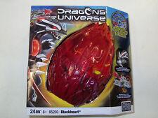 MEGA BLOKS 95203 DRAGONS UNIVERSE BLACKHEART + CD