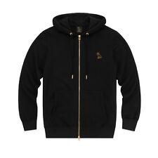 Octobers Very Own OVO Mid-Weight French Terry Zip Hoodie Black MEDIUM Sweatshirt