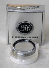 B&W 010 UV Haze Filter für 30mm Aufsteckfassung / Slide-on mount