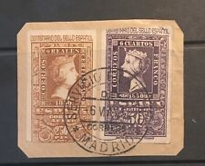 Spain. 1950 Postage + Air Mail On Piece.