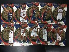 1996 Fleer USA Dream Team Set Pippen Grant Hill O'Neal Anfernee Hardaway Miller