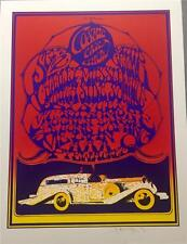 Stanley Mouse Cosmic Car Show Hand Signed Lithograph The Delano Grape Strike S2