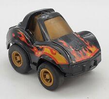 1981 Vintage Takara Penny Racers Black PET VETTE Corvette Toy Car