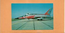 FIRST FLIGHT  NORTH AMERICAN F-107A  POSTCARD
