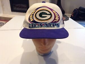 VTG NWT Green Bay Packers Superbowl XXXI 31 Champions Starter Snapback Hat -Cool