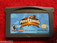 Power Rangers: Dino Thunder  (Nintendo Game Boy Advance, 2005) Video Game cart