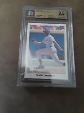 1990 Frank Thomas Leaf RC #300... BGS 9.5 Gem Mint