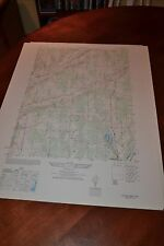 1940's Army topographic map Pitcher New York -Sheet 5869 III SE