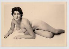 #633 RÖSSLER AKTFOTO / NUDE WOMAN STUDY * Vintage 1950s Studio Photo - no PC !