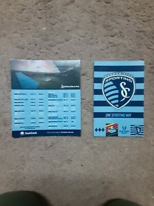 2021 Sporting Kansas City (MLS) magnet schedule w car logo magnet unattached