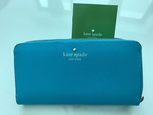 Kate Spade Mikas Pond Lacey NEON Turquoise NWT