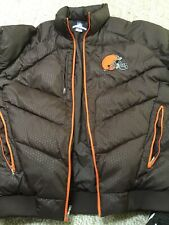 Cleveland Browns NFL Authentic Sideline Puffy Jacket Extra Large**price Reduced