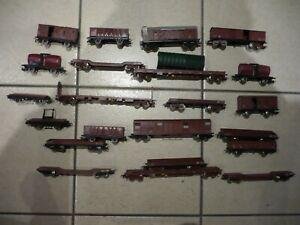 lot wagons jouef lima.jouef.lima.locomotive.train electrique.