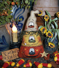Patti's Ratties Primitive Halloween Witch Cat Doll Ornie Paper Pattern #359