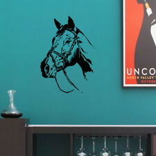 Horse Wall Sticker Horse Head Wall Art Stickers Living Room Decor Animal Decals