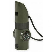 PROFORCE NDuR 7-in-1 SURVIVAL WHISTLE MULTI FUNCTION  OD GREEN  23030