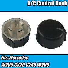 1x clima aire conditoner A/C Dial Perilla De Control Para Mercedes W203 C320 C240 W209