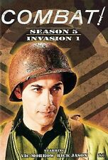 Combat Season 5 Invasion 1 DVD 2005 4-Disc Set WWII Vic Morrow Rick Jason Series