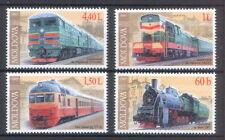 "Moldova 2005 ""Locomotives"" Trains / Railroads 4 MNH stamps"