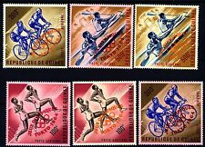 GUINEA - 1964 - Olimpiadi estive, Tokyo. Leggenda JEUX OLYMPIQUES / TOKYO 1964
