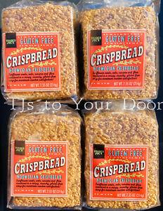 Trader Joe's Gluten Free Norwegian Crispbread Crackers - Choose 1, 2 or 4 Pack