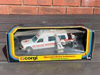 Corgi 406 Mercedes Bonna 2500 Ambulance In Its Original Box - Near Mint 1980
