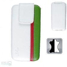 Custodia Cellulare Lavoro Manuale Vera Pelle Universal Protettiva Italia