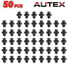 50pcs Front Bumper Grille Plastic Retainer Push Rivet for 00-15 Hyundai Accent