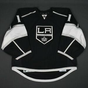 2015-16 Jhonas Enroth Los Angeles Kings Game Used Worn Hockey Jersey MeiGray NHL