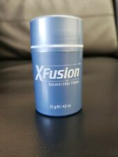 NEW! XFUSION KERATIN HAIR FIBERS, 0.42 OZ, 12 G - MEDIUM BLONDE