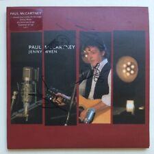 Beatles Paul McCartney Band Signed Jenny Wren Red Vinyl Promo DJ Single 2005