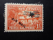 ***NEW GUINEA**1 1/2d RED AIRMAIL HUT**MLH****