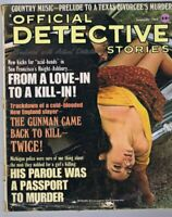 ORIGINAL Vintage January 1968 Official Detective Stories Magazine GGA